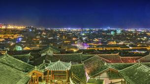 Dayan ancient town,Lijiang, Yunnan, Chinaの写真素材 [FYI02351714]
