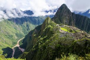 Macchu Picchu,Peru,Cuscoの写真素材 [FYI02351718]