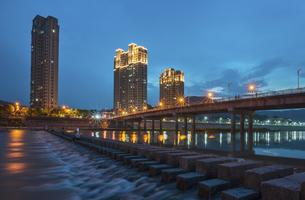 Nightscape,Chinaの写真素材 [FYI02351753]