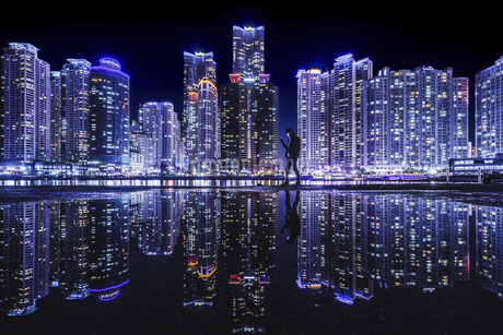 Science fiction City,, Koreaの写真素材 [FYI02351810]
