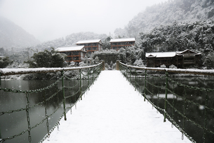 Snowscape of Mount Emei,Sichuan, Chinaの写真素材 [FYI02351876]