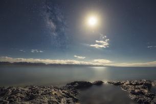 Shining stars,Tibet, Chinaの写真素材 [FYI02351881]