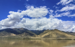 Sky,Tibet, Chinaの写真素材 [FYI02351892]