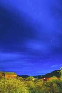 Starry Night in Omutang,Chinaの写真素材 [FYI02352030]