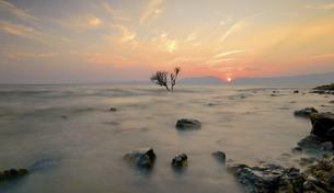 Sunset in Dianchiの写真素材 [FYI02352039]