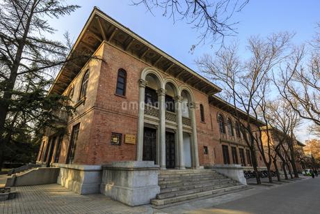 Tsinghua School, Tsinghua University, Beijing,Beijing,Chinaの写真素材 [FYI02352083]