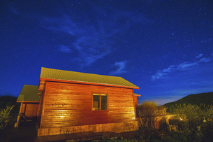 Starry Night in Omutang,Chinaの写真素材 [FYI02352152]