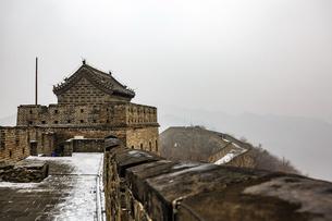 The Mutianyu Great Wall,Beijing, Chinaの写真素材 [FYI02352213]