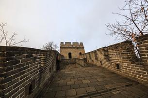 The Mutianyu Great Wall,Beijing, Chinaの写真素材 [FYI02352267]