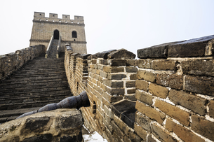 The Mutianyu Great Wall,Beijing, Chinaの写真素材 [FYI02352281]