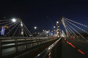 Taiyuan South Central Ring Bridge,Taiyuan,Shanxi,Chinaの写真素材 [FYI02352311]