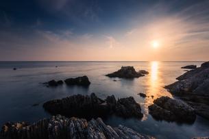the Yellow Sea,the Bohai Sea,Dalian,Liaoning,Chinaの写真素材 [FYI02352320]