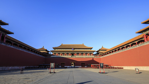 The Palace Museum,Beijing, Chinaの写真素材 [FYI02352337]