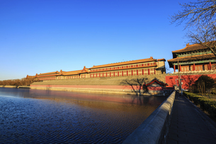 The Palace Museum,Beijing, Chinaの写真素材 [FYI02352347]