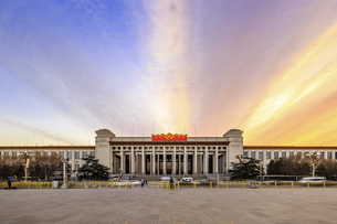 National Museum of China,Beijing, Chinaの写真素材 [FYI02352348]