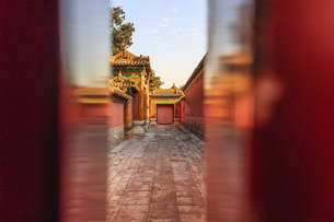The Palace Museum,Beijing, Chinaの写真素材 [FYI02352533]