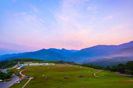Taiwan,Taitung County,Luye Township,Hot Air Balloon,2014 Taitung Hot Air Balloon Carnival,Hot Air Baの写真素材 [FYI02352553]