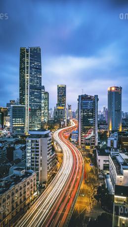 Twilight Shanghai,Chinaの写真素材 [FYI02352678]