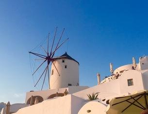 Santoriniの写真素材 [FYI02352685]