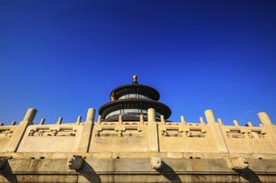 Temple of Heaven Park Prayer Valley Temple Prayer Hall,Beijing, Chinaの写真素材 [FYI02352692]