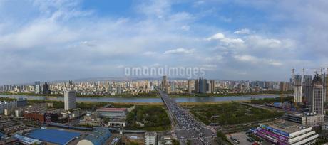 Taiyuan Yingze Bridge,Taiyuan,Shanxi,Chinaの写真素材 [FYI02352694]