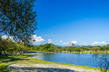 Taiwan,Yilan County,Luodong Town,Luodong Sports Park,Sports Park,Greenlandの写真素材 [FYI02352790]