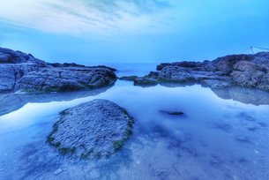 Sunrise by the sea,Chinaの写真素材 [FYI02352815]
