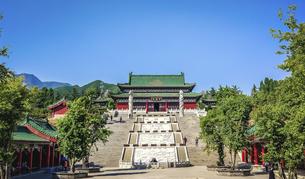 Wang Wu Shan,Jiyuan, Henan, Chinaの写真素材 [FYI02352831]
