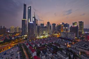 building,Shanghai,Chinaの写真素材 [FYI02352850]