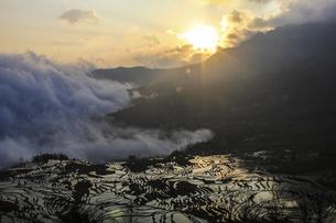 Terrace,Chinaの写真素材 [FYI02352891]