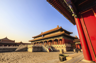 The Palace Museum,Beijing, Chinaの写真素材 [FYI02352993]