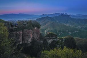 Wang Wu Shan,Jiyuan, Henan, Chinaの写真素材 [FYI02353011]