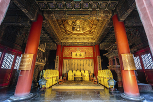 The Palace Museum,Beijing, Chinaの写真素材 [FYI02353016]