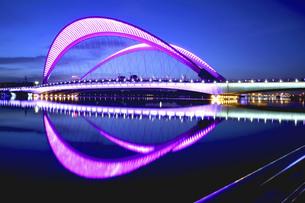 Taiyuan South Central Ring Bridge,Taiyuan,Shanxi,Chinaの写真素材 [FYI02353034]