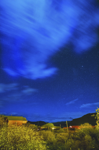 Starry Night in Omutang,Chinaの写真素材 [FYI02353065]