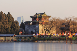 Summer Palace,Beijing, Chinaの写真素材 [FYI02353202]