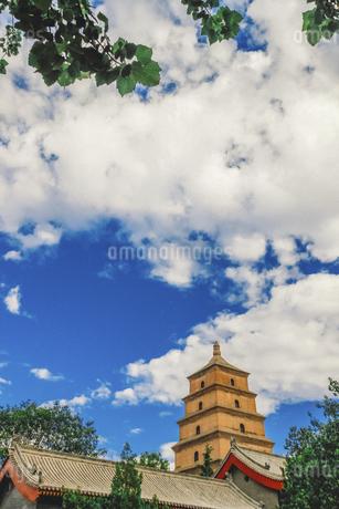 tower,Xi'an,Shanxi,Chinaの写真素材 [FYI02353270]