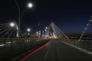Taiyuan South Central Ring Bridge,Taiyuan,Shanxi,Chinaの写真素材 [FYI02353314]