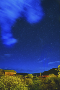 Starry Night in Omutang,Chinaの写真素材 [FYI02353395]