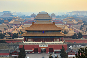 The Palace Museum,Beijing, Chinaの写真素材 [FYI02353465]
