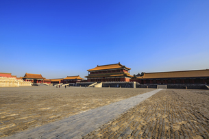 The Palace Museum,Beijing, Chinaの写真素材 [FYI02353544]