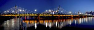 Taiyuan South Central Ring Bridge,Taiyuan,Shanxi,Chinaの写真素材 [FYI02353573]