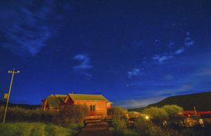 Starry Night in Omutang,Chinaの写真素材 [FYI02353764]