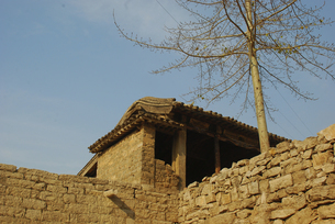 Yujia Stone Village,Hebei,Chinaの写真素材 [FYI02353821]