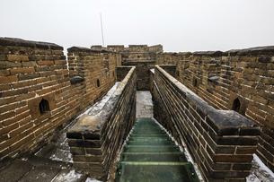 The Mutianyu Great Wall,Beijing, Chinaの写真素材 [FYI02353835]
