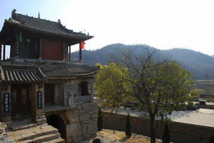 Yujia Stone Village,Hebei,Chinaの写真素材 [FYI02353957]