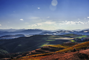 Yunnan Red Land,Yunnan,Chinaの写真素材 [FYI02353960]