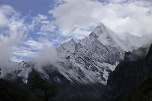 Youmayon,Tibet, Chinaの写真素材 [FYI02353991]