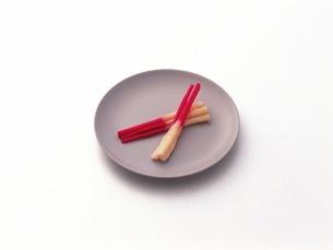 紅白はじかみの写真素材 [FYI02354062]