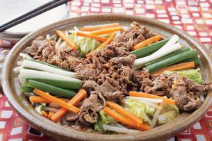 プルコギ 韓国料理の写真素材 [FYI02354425]